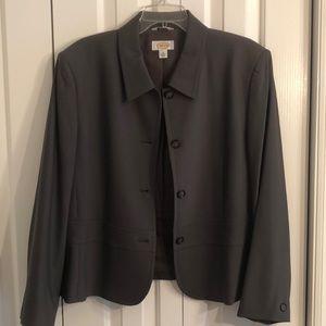 Pretty Talbots brown size 18 business jacket